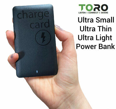 ULTRA THIN Portable Charger Battery Power Bank for Apple iPhone 6 7 8 9 10 11 X