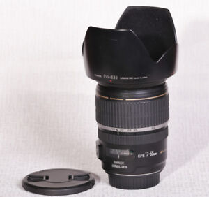 Canon EF-S 17mm to 55mm F2.8 (Very Fast) Lens