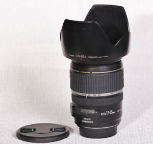 Canon EF-S 17-55 mm f2.8 Lens