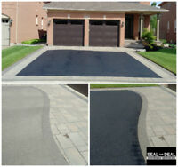 Asphalt Sealing - Seal The Deal Driveway Services