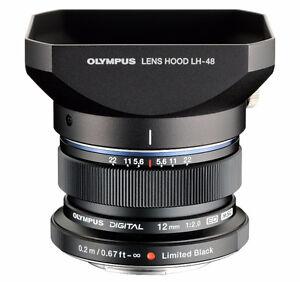 Olympus M. Zuiko Micro Four Thirds 12mm F2.0 prime lens