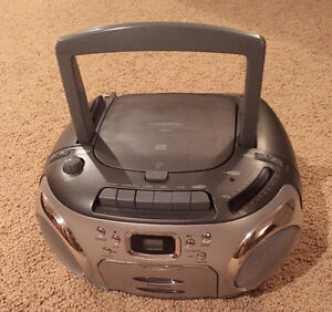 Sony Compact Disc Digital Audio Tapes and Radio