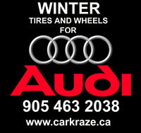 905 463 2038 Car Kraze AUDI Winter Tires Rims Package