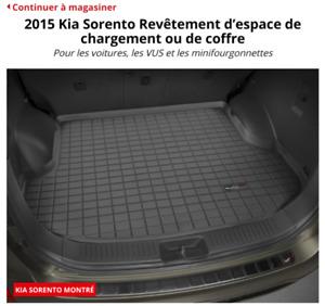 Weathertech pour Kia Sorento (coffre)