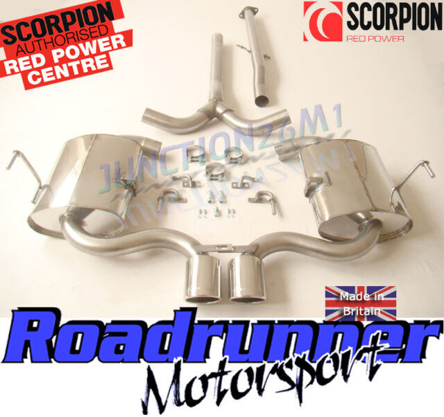 Scorpion Mini Cooper S Cat Back Exhaust R53 Hatchback & R52 Convertible SMN003