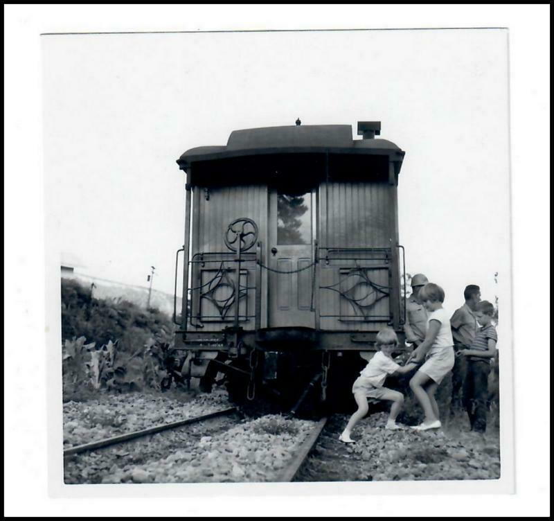 4X4 B&W Photo Print From Org Negative Trains D&RGW Aug 1965 #PR058