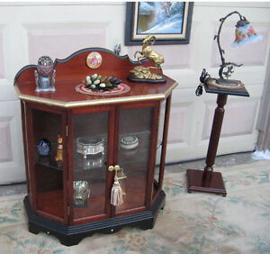 Console Display Cabinet