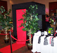 TOP OF THE LINE PHOTOBOOTH, UNLIMITED PRINTS & HD VIDEO $380*