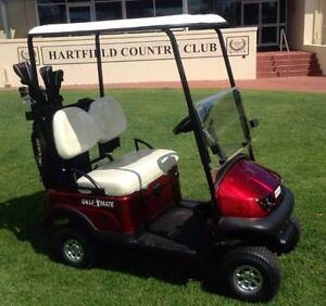 GOLF CARTS: 1 seat & 2 seat mid size GOLF-MATE golf carts