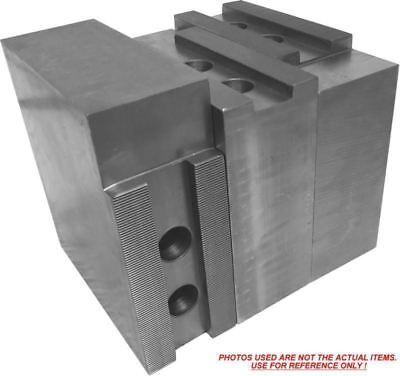 "5/"" HARD JAWS for Kitagawa B-205 1.5mm x 60 CNC Lathe Chuck Steel 3pc Set"