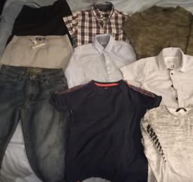 Boys age 9 quality clothes bundle