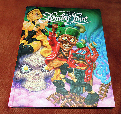 "Graffiti Magazin / Buch ""WON ABC ZOMBIE LOVE"" Hardcover Montana Belton Streetart"