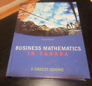Business Mathematics in Canada, 7th Ed, Hardcover, Access Card