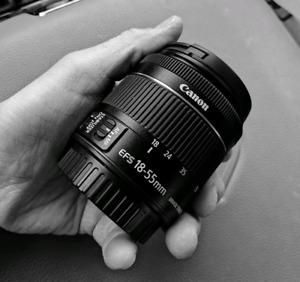 New 18-55mm lens