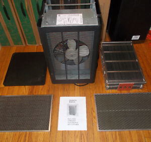 RESPIRAIDE HEAVY DUTY AIR FILTER SMOKE EATER PURIFIER + WARRANTY