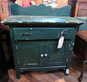 Vintage Painted Washstand