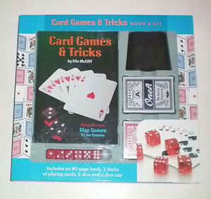 Card Games and Tricks Book and Kit