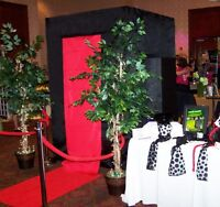Photo Booth Rental, Unlimited Prints & Video from $350