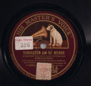 Portuguese Old 78's Records Wanted