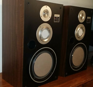Technics 3 way Speakers System Haut parleur -