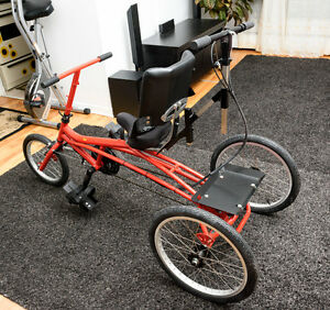 [NEW] Trike for disabled kids / Tricycle - besoins particuliers