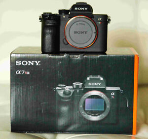 Sony A7R III, a few months old, barely used, pristine!
