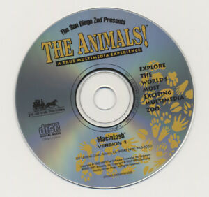 THE SAN DIEGO ZOO PRESENTS THE ANIMALS! CD-ROM
