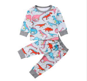 NEW - kids dinosaur pjamas