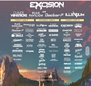 Ever After Music Festival Weekend Passes!!