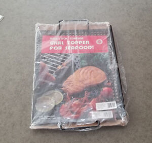 NEW Non Stick 16 x 12 Grill Topper with two handles