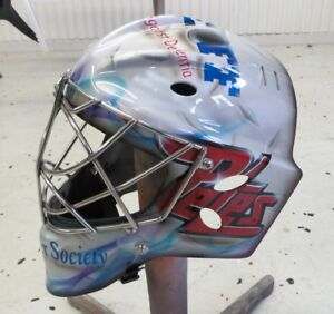 HOCKEY MASKS & HELMETS PAINTED