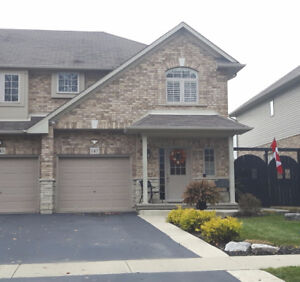 Beautiful Binbrook!  Freehold Townhome Fully Finished!