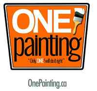 Painting services at affordable prices with excellent results