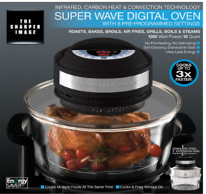 Carbon Heat and Convection Technology Super Wave Digital Oven