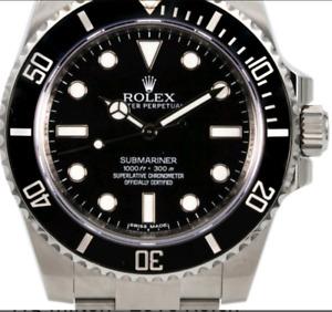2016 Rolex submariner 114060