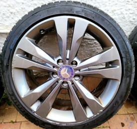 GENUINE MERCEDES 18 INCH WHEELS 5X112 224 40 18 fit Volkswagen audi