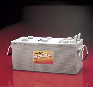 Batterie Solaire AGM 12V Groupe 8D Deka Solar 8A8D de 250Ah,