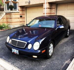 Mercedes-Benz CLK-Class Coupe (2 door) $2700 OBO