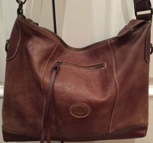 Roots Tribe Leather Satchel Bag New I Ship