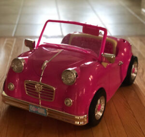 "Our Generation Retro Convertible Car for 18"" Dolls"