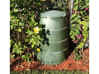 2 x Green Johanna Hot Composter Bin (Recycle Food Scraps Waste)