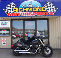 2013 HONDA SHADOW 750 PHANTOM .....only 1300 kms!!!!