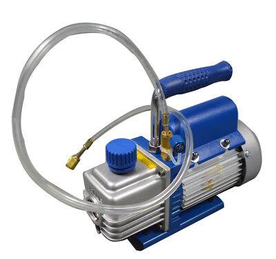 Us Stocknewest Mini 220v Vacuum Pump 2cfm 38 14hp 1400rpm Rotary Vane Pump