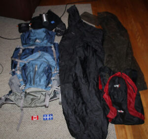 Travel backpack Gear Accessories Gregory Z65 Altus Poncho bug