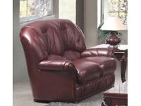 Two Seater Leather Sofa NEW RRP £649.99