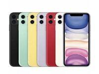 iPhone 11 64gb and 256gb UNLOCKED