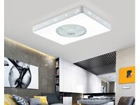 Rectangle Bedroom Ceiling Fan with Changeable LED Light - for sale (new)