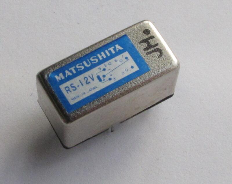 Matsushita RS12V relay - high speed SPDT reed relay