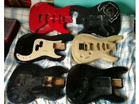 Guitar Bass Parts Clear Out
