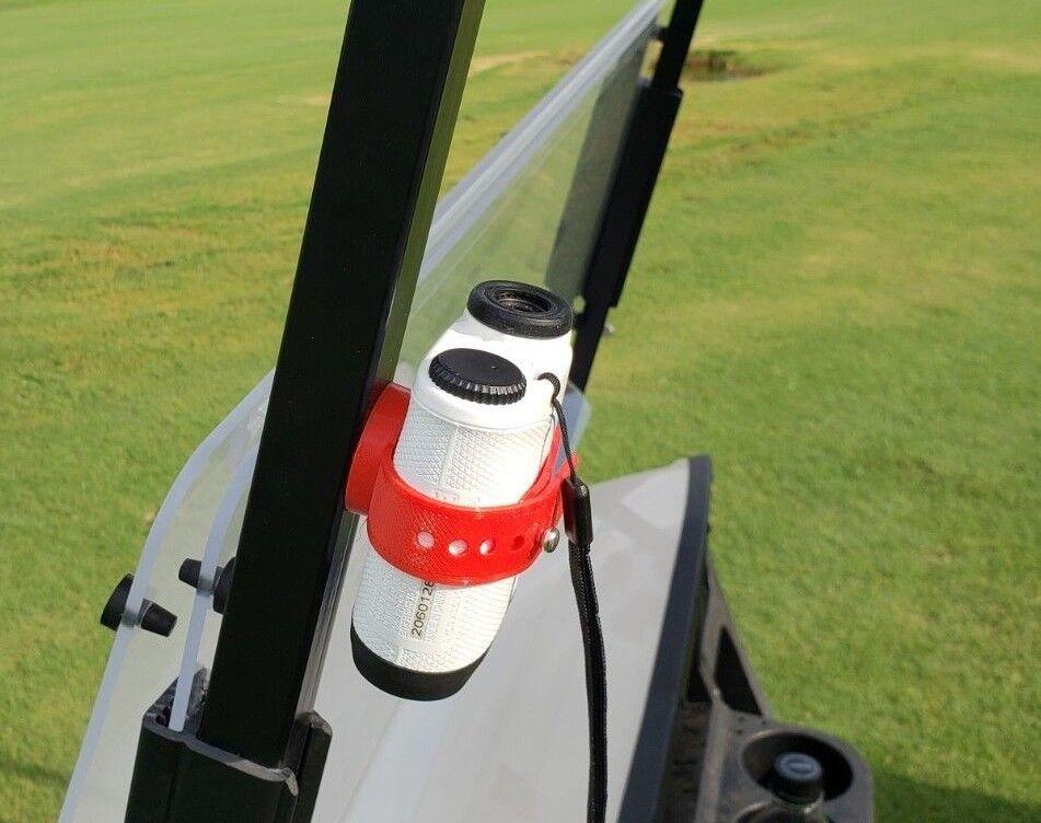 Magnetic Range Finder Strap | Holder - RED- rubber with stro